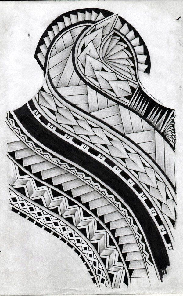 samoan tattoo design by koxnas - 30 Pictures of Samoan Tattoos  <3 <3