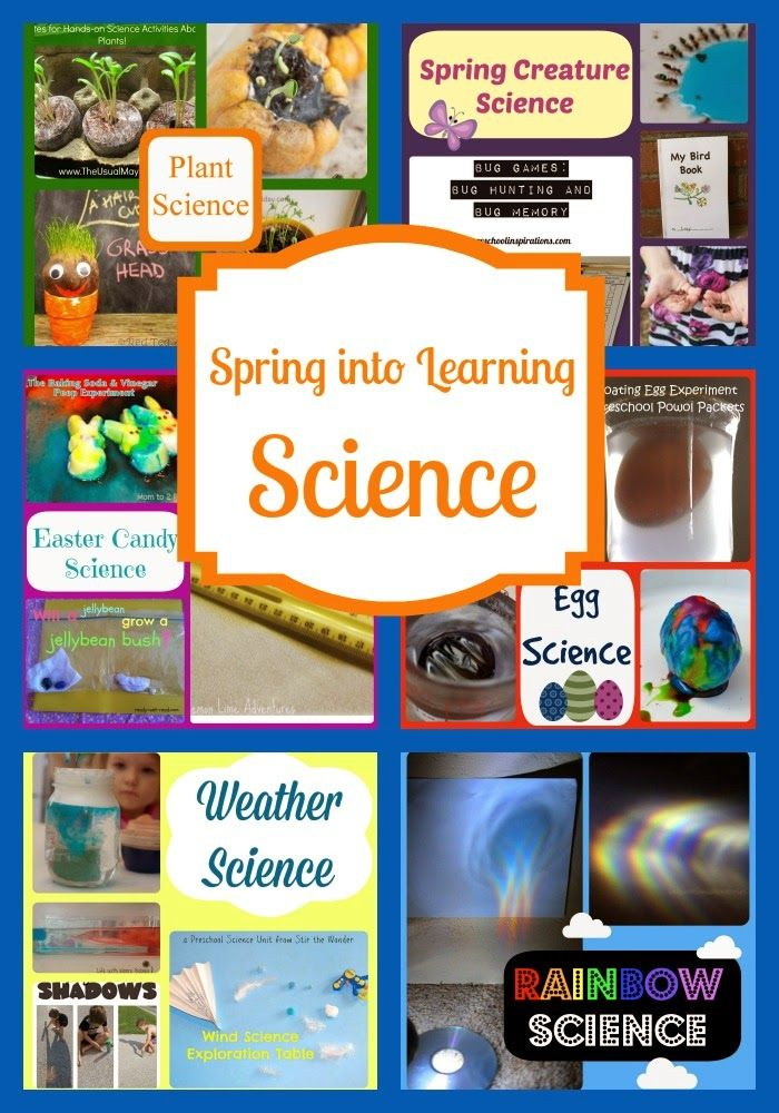 Life with Moore Babies: Spring into Learning Science | Spring Kids ...