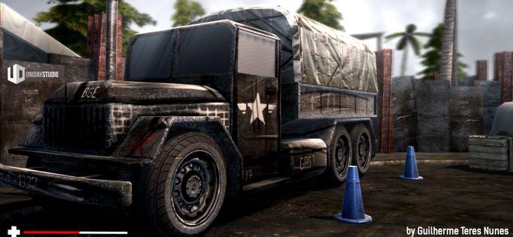 WAR | Blender Game Engine - Test Scene 2