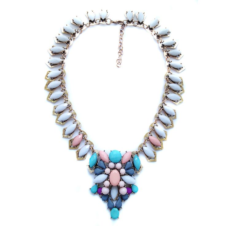 Free shipping NEW 2014 women fashion collar design bubble bib  necklaces & pendants choker statement necklace for women Jewelry $9.80