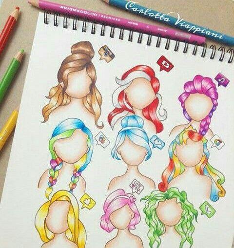 Hair style social medias !