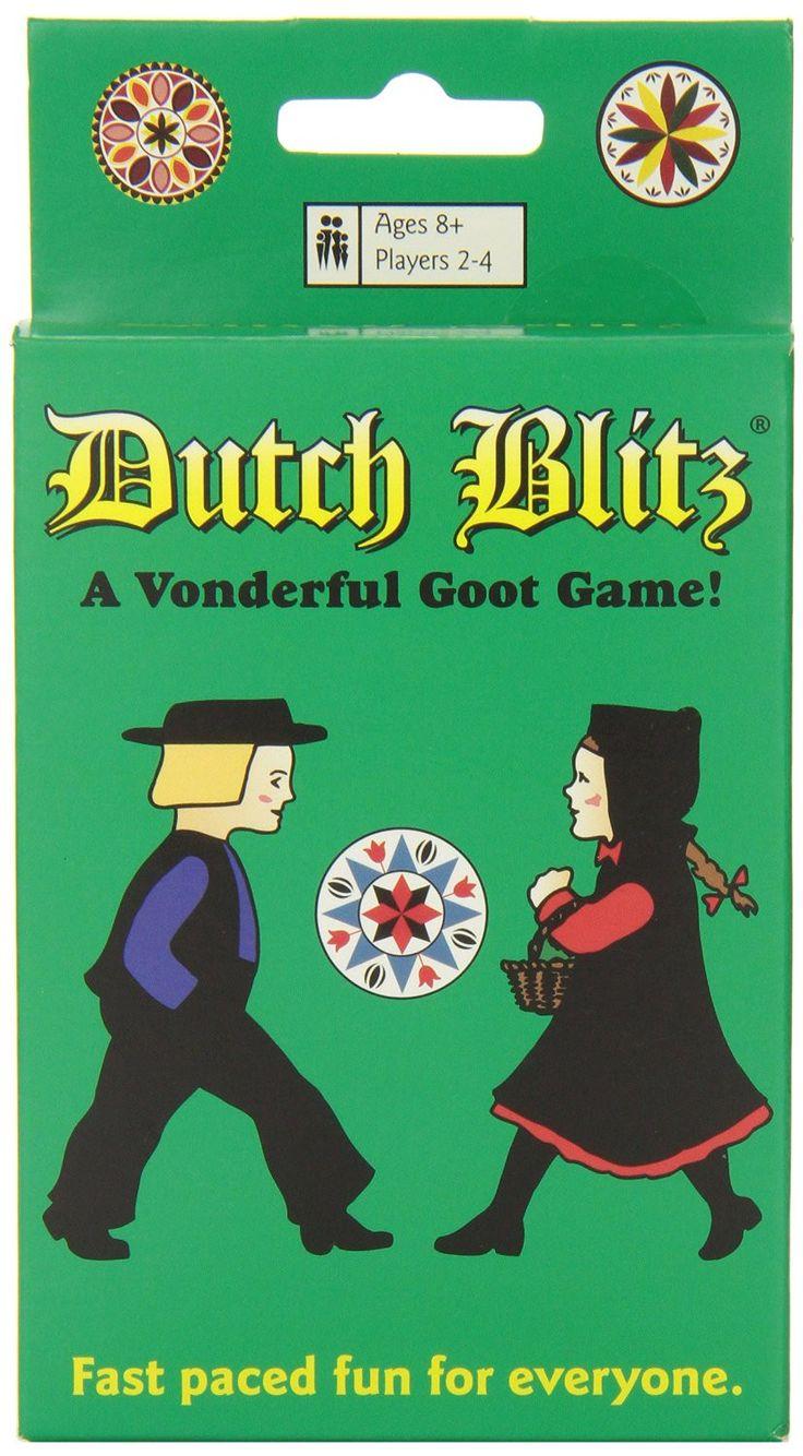 Dutch blitz game fun card games family card games card