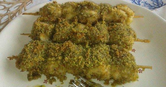 Involtini di pesce spada con pistacchi