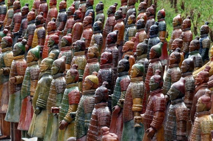 Terra Cotta Warriors.