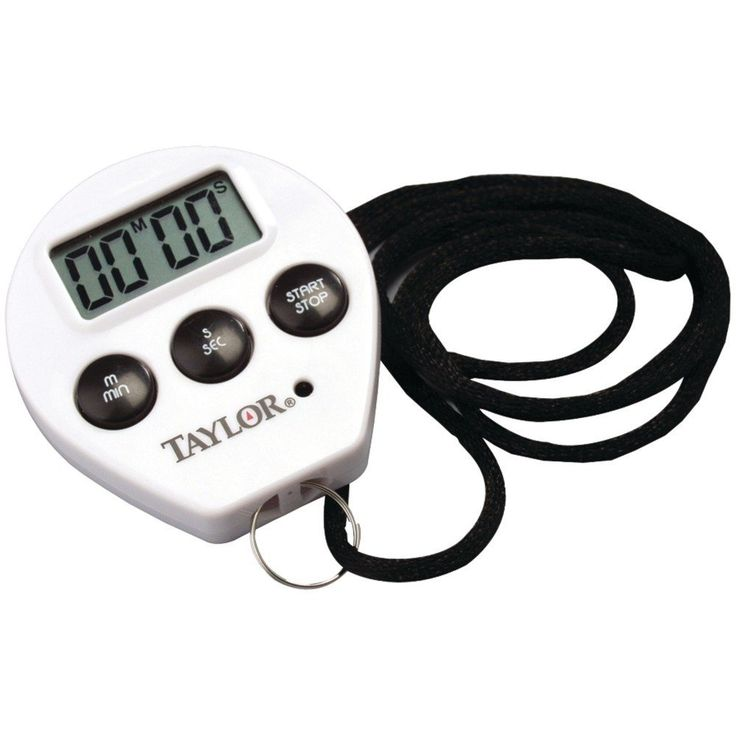 Taylor Chef's Digital Timer and Stopwatch Clock $10.63