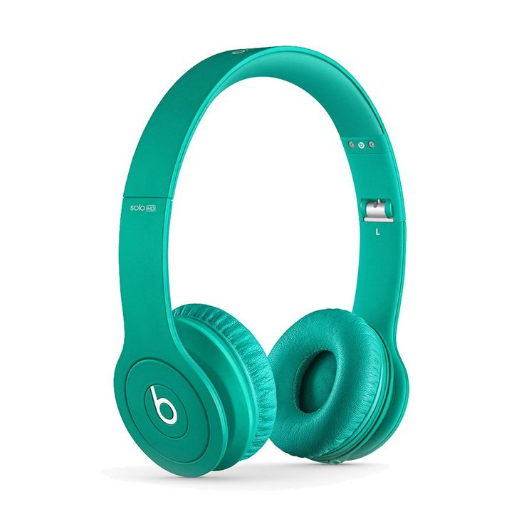Beats solo HD drenched in color on ear Headphone teal look as good as it's sound. Drenched in color, these Beats are the first to feature matching ear cups, cord, and headband. Looking good with this beats solo drenched in color headphone. http://www.zocko.com/z/JEqDI