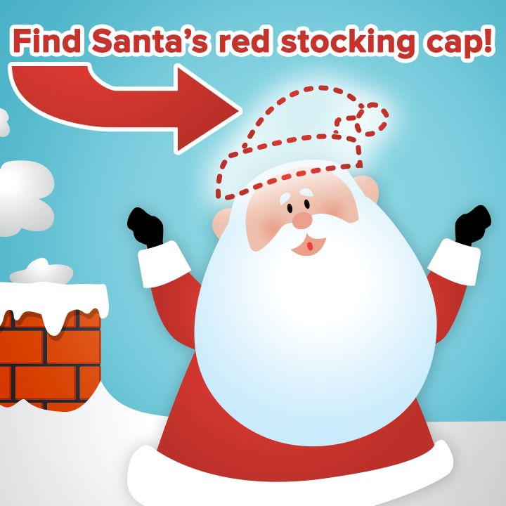 Find Santa's stocking cap for a chance to win a year's supply of Purex Crystals Fabulously Fresh