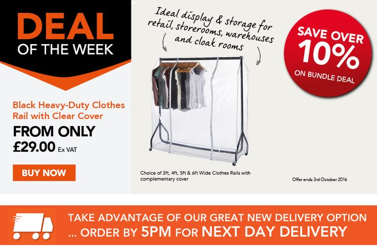 Great Clothes Rail & Cover Deal - SAVE 10%