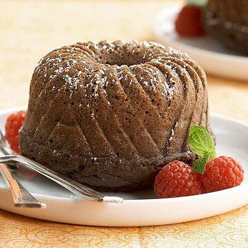 Ginger-Spiced Chocolate Cake * diabeticliving.com