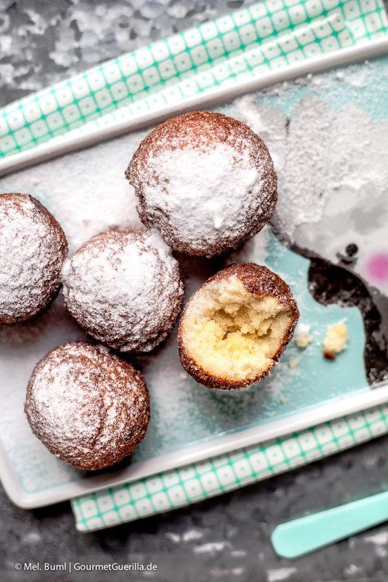 {LCHF Rezept} Low Carb Quark-Bällchen. Und 10 praktische Tipps für einfaches Frittieren im Topf | GourmetGuerilla.de