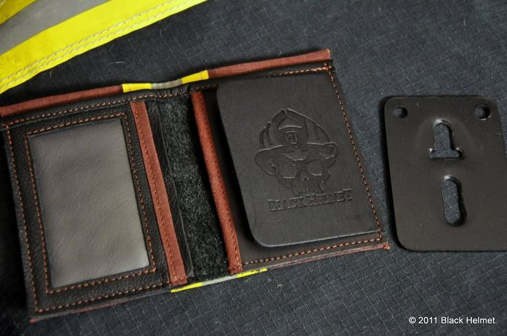 Boyfriend is a firefighter and this wallet is made out of bunker gear!