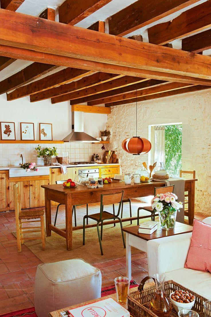 De antigo celeiro para uma linda casa rústica