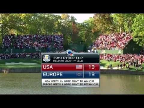 Ryder Cup 2012 - Final Day Highlights at Medinah Country Club USA