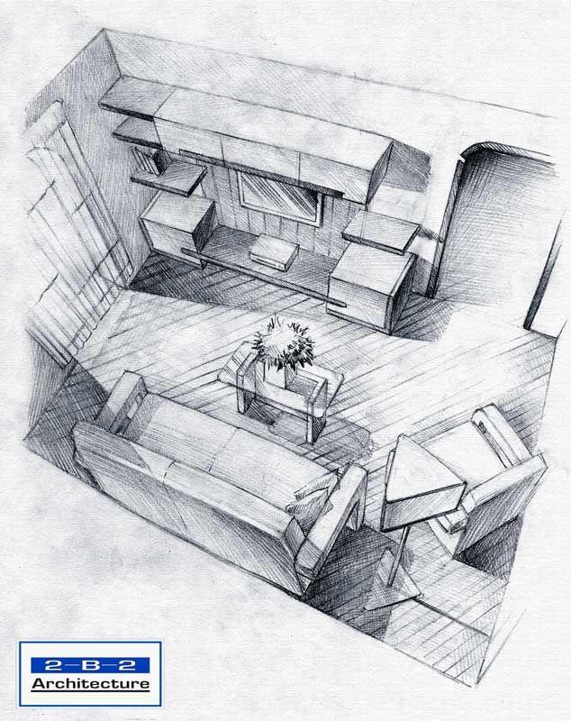 interior sketch. sketch, interior design, drawing, architecture, furniture