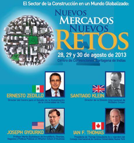Con el objetivo de identificar los nuevos mercados y retos para el sector constructor, en un mundo cada vez más globalizado y competitivo, el próximo 28 de agosto se inaugurará en Cartagena el Congreso Colombiano de la Construcción, que este año espera contar con más de 1.500 participantes. Muma estará presente en este evento con la sala VIP de Camacol