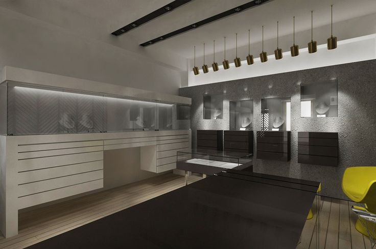 Jewellery Store | Paros Island | iidsk  |  Interior Design & Construction