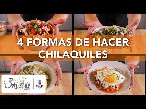 ideas para hacer chilaquiles   CocinaDelirante