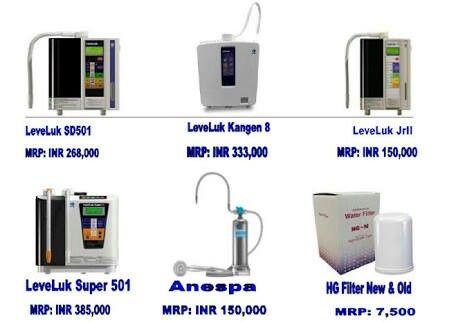 kangen water enagic machine price