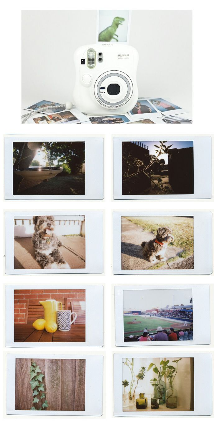 101 photos with my Fujifilm Instax Mini 25 camera, plus a bunch of tips and tricks for taking great instant photos.