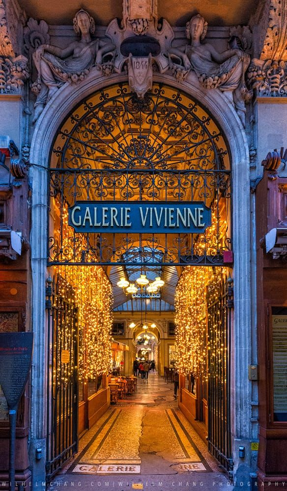 Galerie Vivienne ♠ Paris by Wilhelm Chang on 500px