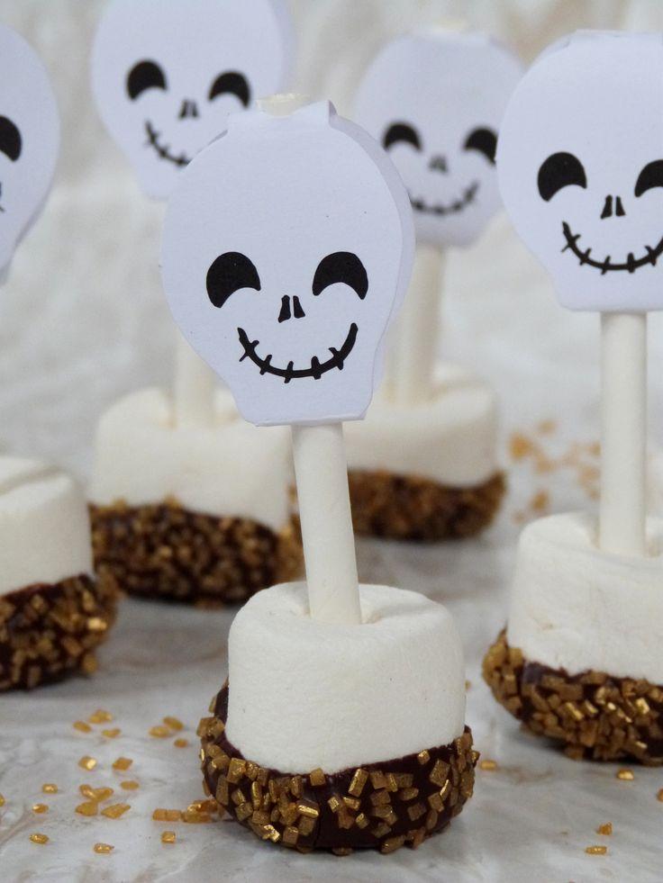 DIY Cuisine // Les Chamallows d'Halloween  // La Fabrique Pailletée ♡