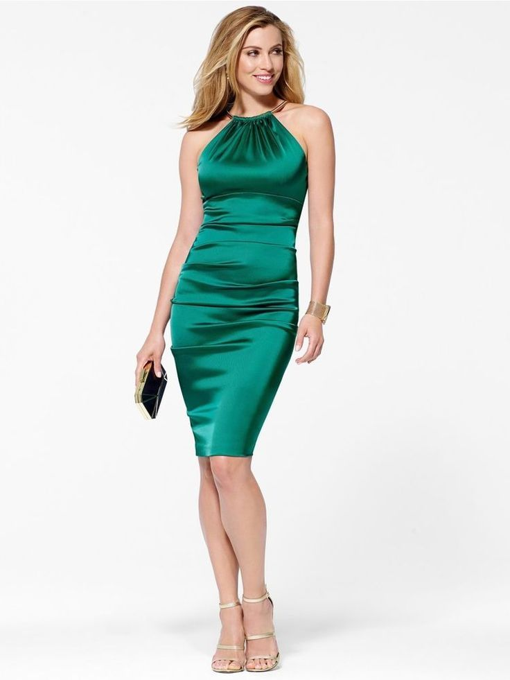 green-cocktail-dresses