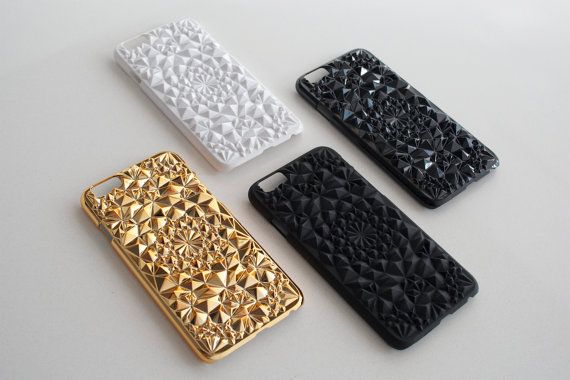 Gold Kaleidoscope Case for iPhone 6 // Gold iPhone 6 by felonycase