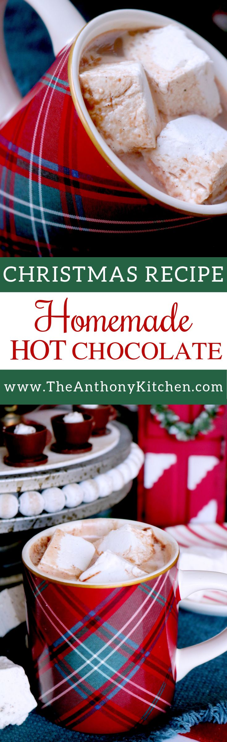 Homemade Hot Cocoa Recipe   The best homemade hot chocolate recipe features a simple stovetop mix of cocoa powder, sugar, vanilla, milk, and cream   #hotcocoarecipe #homemadehotcocoa #homemadehotchocolate #hotchocolaterecipe