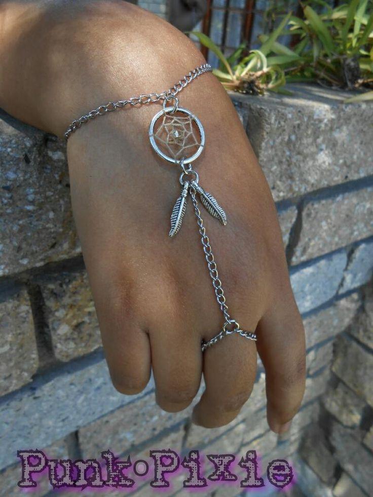 dream catcher slave bracelet by Punk Pixie