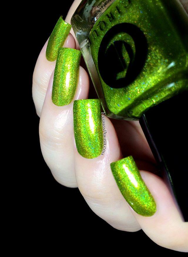 Mejores 85 imágenes de Green Nail Polish Swatches en Pinterest ...