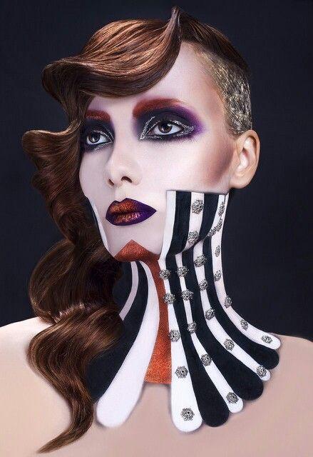 Estetica Awards Contest Mua Cristian Buca Photographer Tibi Vantur Hair Oana Motoi Model Sabina Trandafir