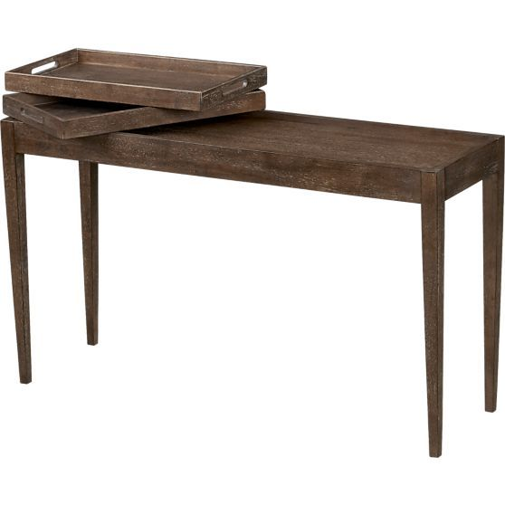 Benson Console Table Crate and Barrel