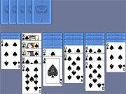 Free Online Puzzle Games, Get ready for a challenging game of Spider Solitaire in this great flash game!  Arrange the cards from the King all the way down to the Ace.  See if you can correctly arrange all the cards before time runs out!, #card #board #solitaire