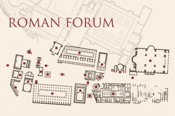 roman forum map pr energy