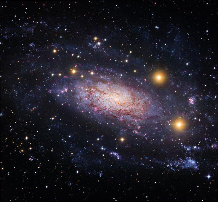 NGC 3621: Far Beyond the Local Group #NASA