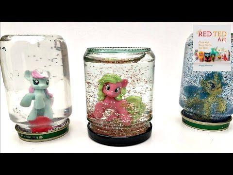 Kids Crafts: Snowglobes - Red Ted Art's Blog