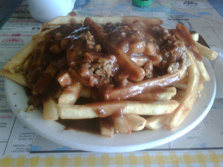 Fries, dressing and gravy