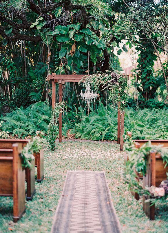 Best 25 Woods Wedding Ceremony Ideas On Pinterest Altar Decorations Simple And Backyard Ceremonies