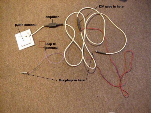 GPS Antenna Amplifier Extension - DIY Homemade
