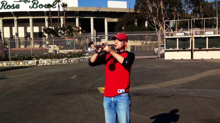Knox Summerour -  UGA Battle Hymn at Rose Bowl Stadium