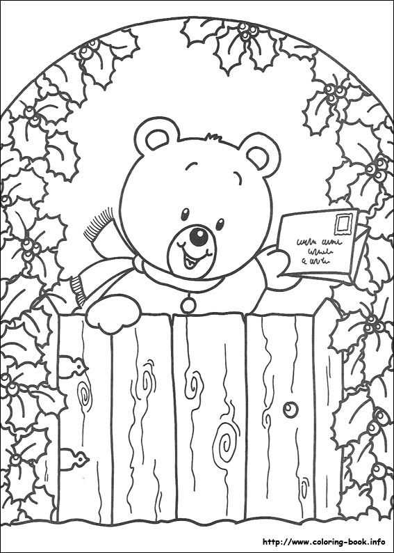 Christmas - coloring picture | coloring-book.info