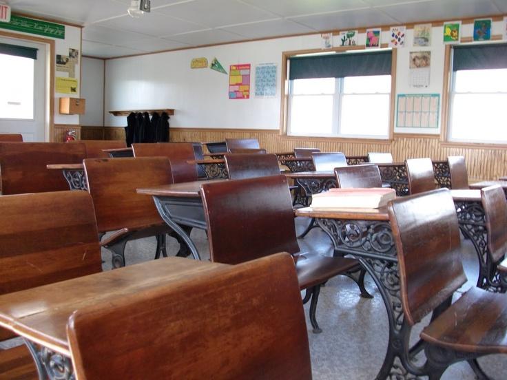Looks like our one room Elmira School at Red Oak II...