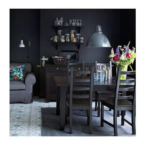 storn s ausziehtisch braunschwarz kitchen pinterest h ngeleuchte ikea und fotos. Black Bedroom Furniture Sets. Home Design Ideas