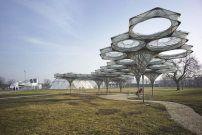 Pavillon von Achim Menges in Weil am Rhein / Elytra und Vitra - Architektur und Architekten - News / Meldungen / Nachrichten - BauNetz.de