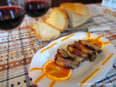 Briciole di Sapori : Anatra disossata ripiena all'arancia