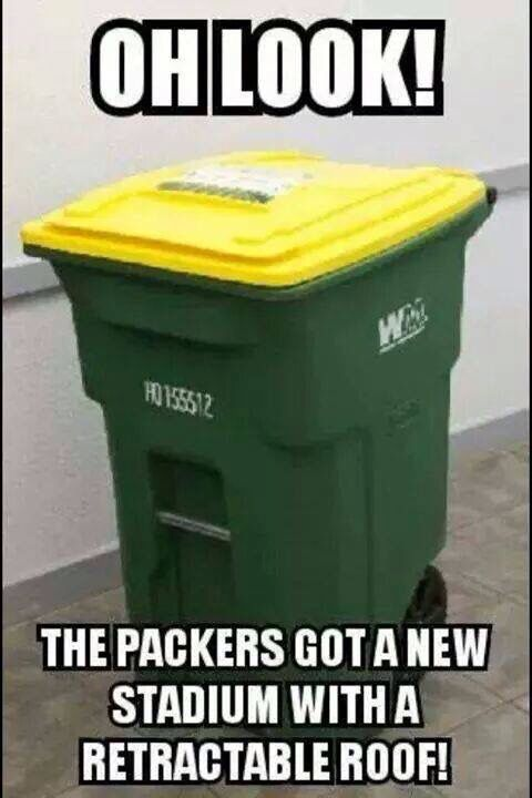 Lol packers suck!!