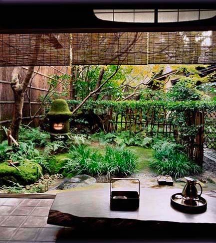 17 best images about japanese courtyard garden on for Japanese garden inside house