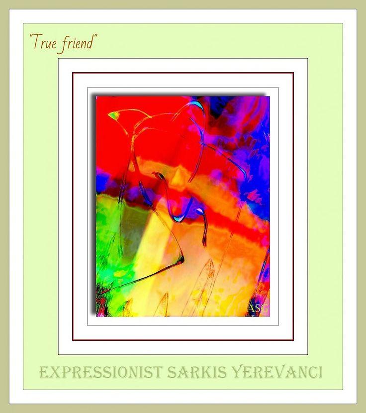 """""""True friend"""" - Изобразительное искусство - Масло, акрил"""