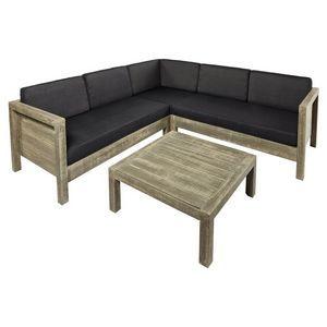 Del Terra Texel Corner Lounge 4 Piece Set