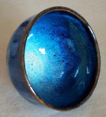 Peter's Pottery: Chun glaze